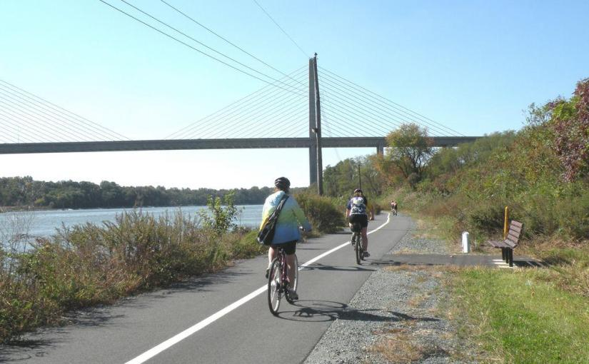 Check-out the Bike Trail along the Chesapeake and DelawareCanal