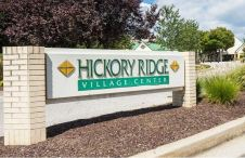 Hickory Ridge Village Center Marquis