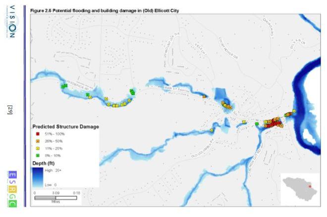 Potential Flood Damage