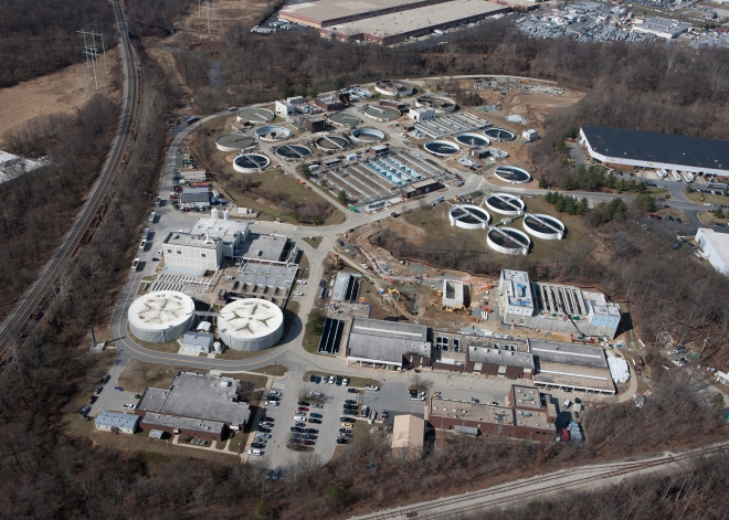 The Little Patuxent Water Reclamation Plant in Howard County, Maryland (photo by Atkins Global)