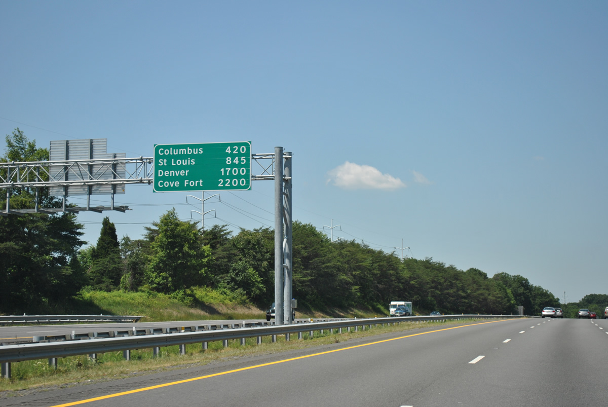 How We Got Those Highway Signs With Mileage Of Distant