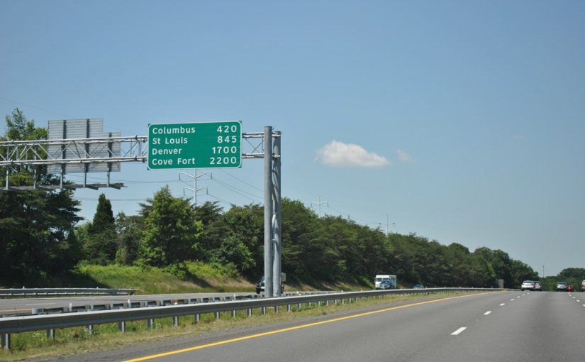 How we got those highway signs with mileage of distant cities