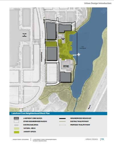 Columbia Lakefront Design Guidelines being considered by Design Advisory Panel