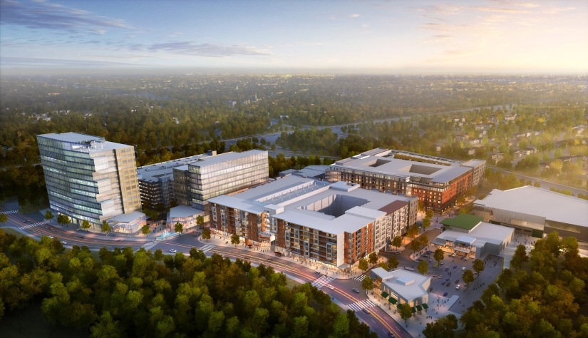 Latest plans for development of Merriweather District