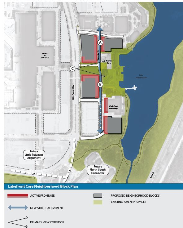 Town Center Columbia Md: Development Proposed For Columbia Lakefront Advances The