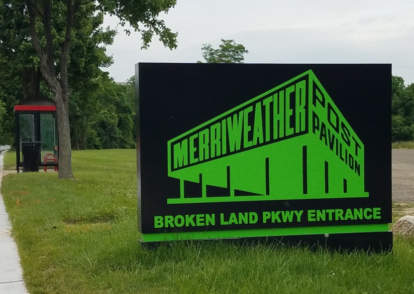 Check out the renovations at Merriweather PostPavilion